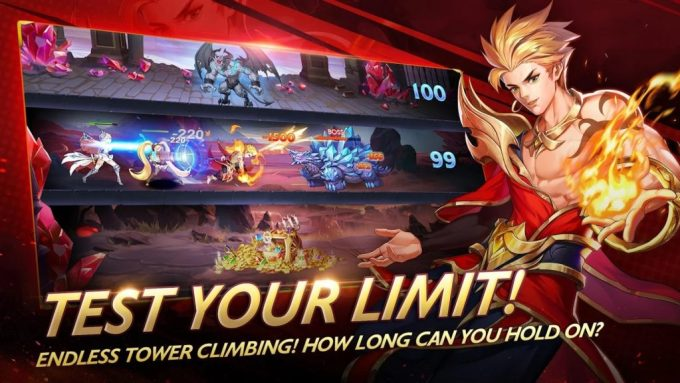 Mobile Legends Adventure endless tower