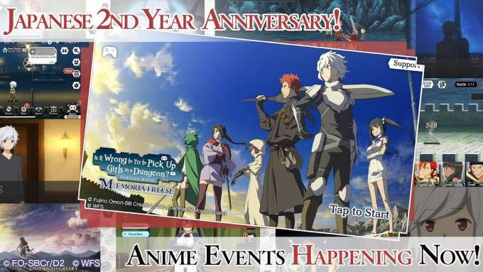 DanMachi MEMORIA FREESE Event