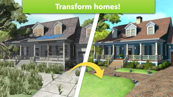 Home Design Makeover graphics