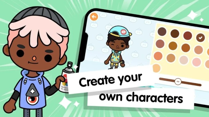 Toca Life World characters