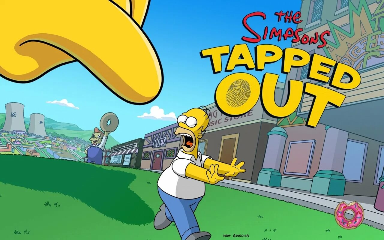 Image result for The Simpsons™: Tapped Out MOD, Unlimited Money