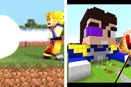 Skin De Minecraft De Goku Full HD MAPS Locations Another World - Skins para minecraft pe broly