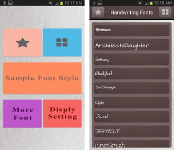 Download Handwriting Fonts Free Apk Download for Android- Latest ...
