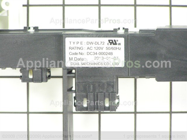 Samsung DC34-00024B Door Switch Assembly