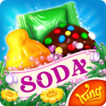 لعبة Candy Crush Soda Saga مهكرة