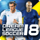 لعبة Dream League Soccer 2018 مهكرة