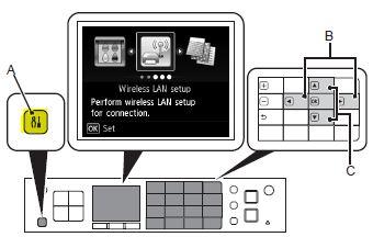 Configuración de Canon WPS