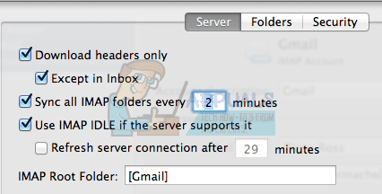 Google Mail-Root-Ordner