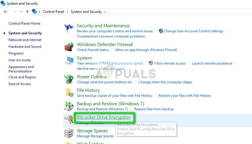 BitLocker-Laufwerkverschlüsselung in Windows 10