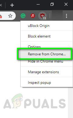 Ublock aus Chrome entfernen