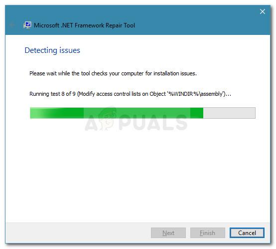 Ausführen von Tests zum Scannen nach .NET Framework-Problemen