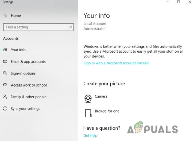Windows necesita sus credenciales actuales