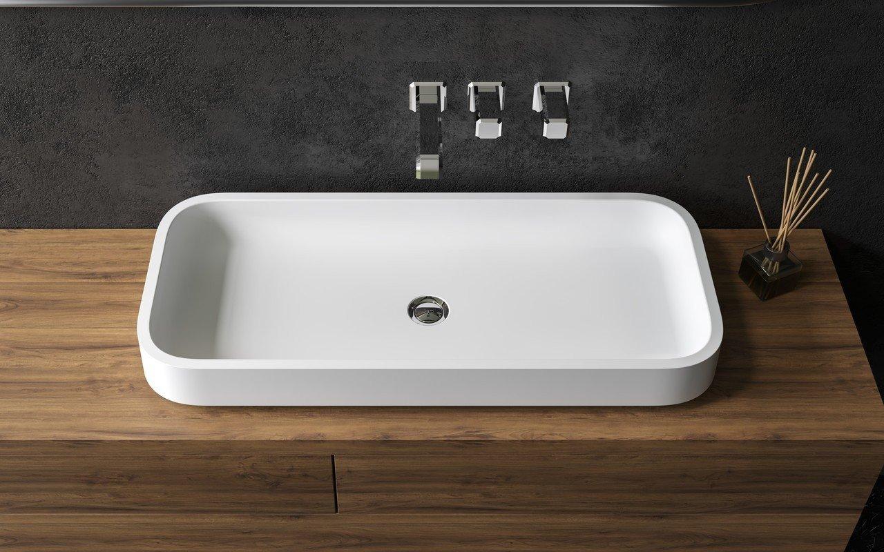 aquatica solace b wht rectangular stone bathroom vessel sink