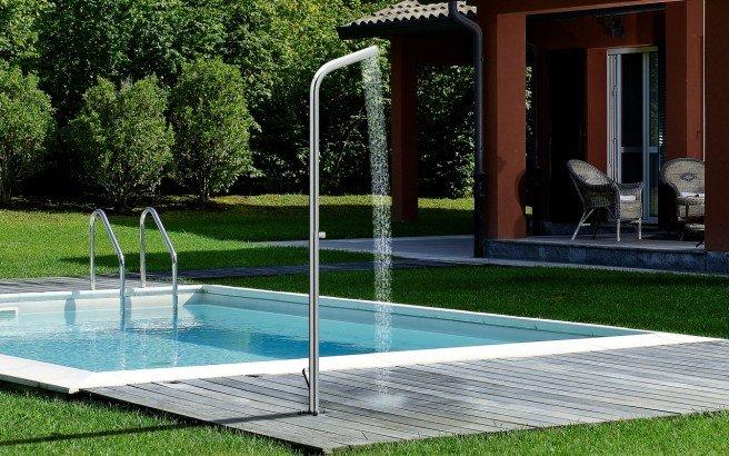 aquatica gamma 515 freestanding outdoor shower