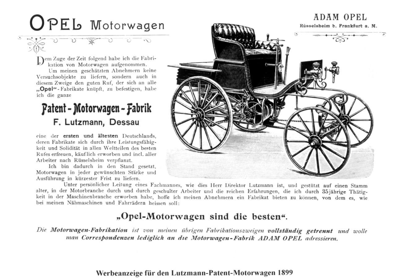 21 De Janeiro De As Origens Da Opel