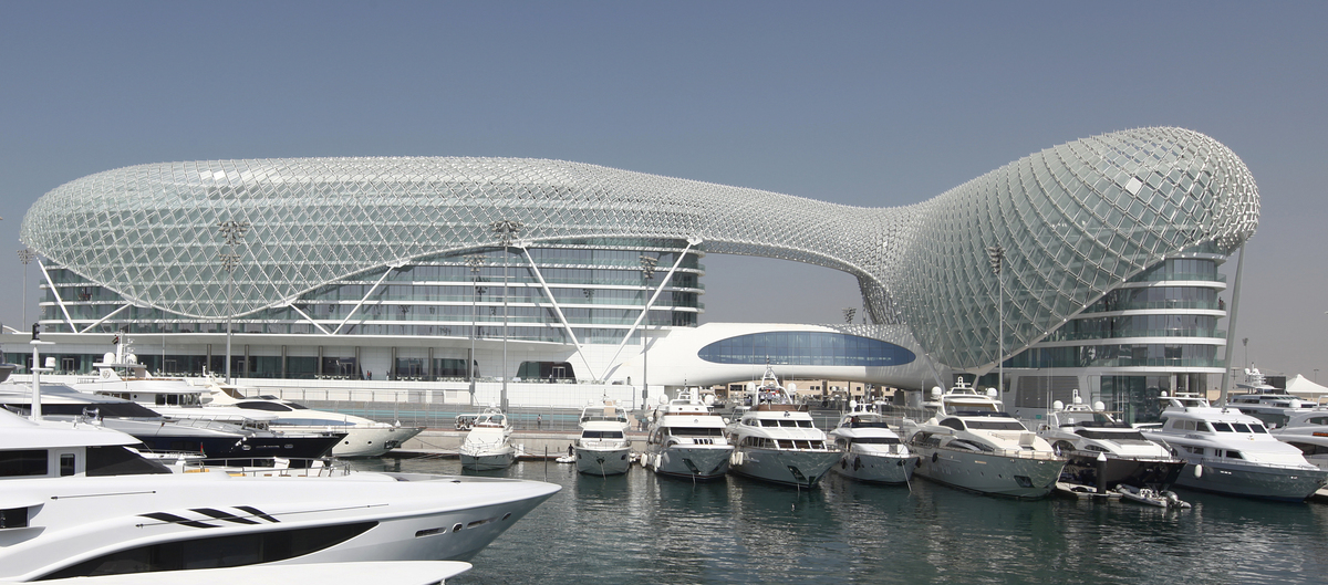 Yas Viceroy Hotel Asymptote Architecture Archinect