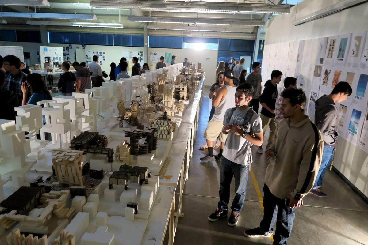 """Interim"" student exhibition at Cal Poly Pomona. Image: Cal Poly Pomona"