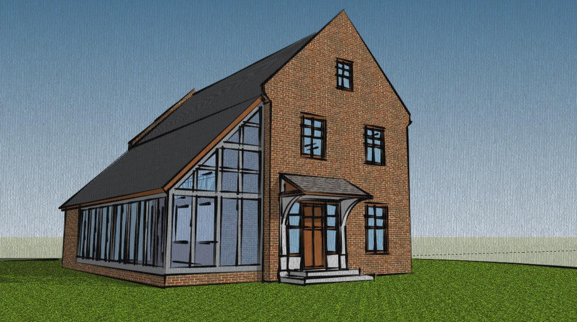 various sketchup houses mark einselen archinect