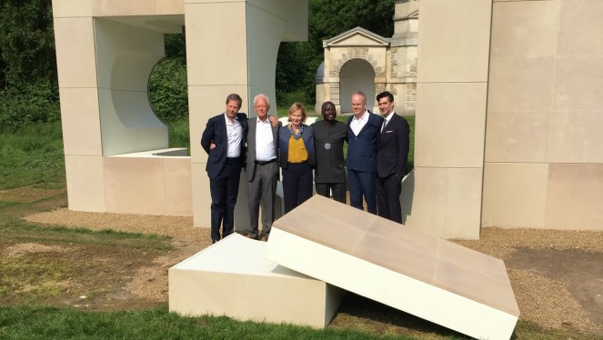The curators and architects of the summer pavilions. Image credit: Robert Urquhart.