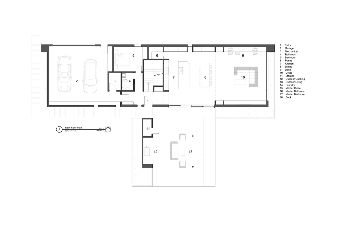 Overlapping Volumes House
