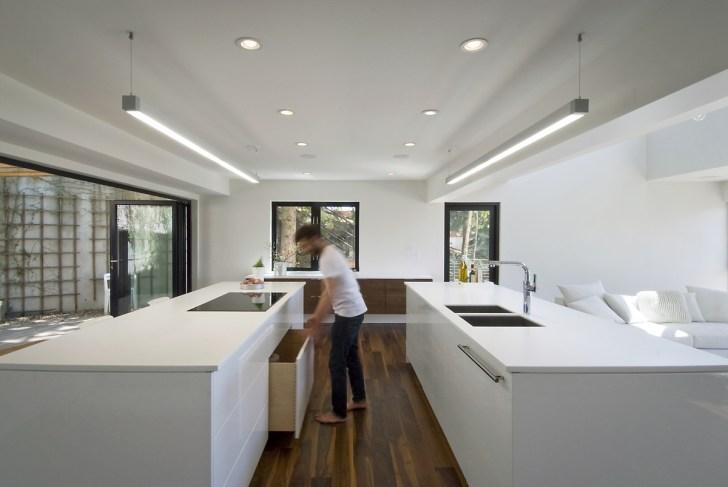 Double Island Kitchen