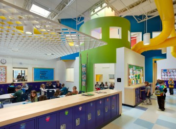 An Innovative Elementary School Designed by HMFH Architects