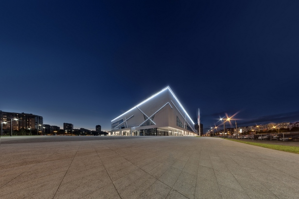 Sport Complex night illumination