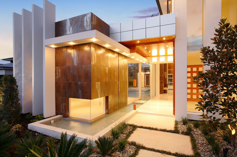 A Wonderful Residential House By Project And Design