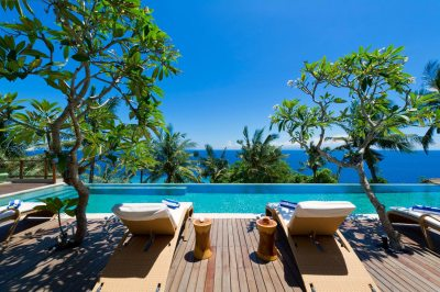 Malimbu Cliff Villa on Lombok Island, Indonesia