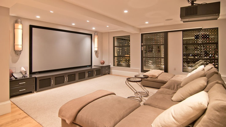 Ideas Decorating Home Theater Room