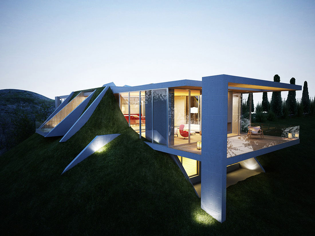 Earth House Project In Tirana Albania Architecture Amp Design