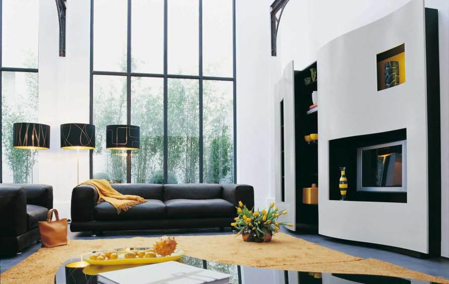 Living Room Inspiration: 120 Modern Sofas by Roche Bobois ...