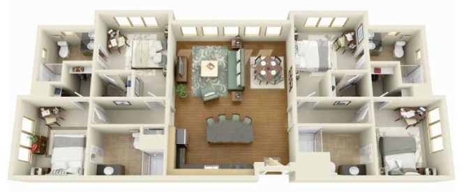 29 Home Layout Example