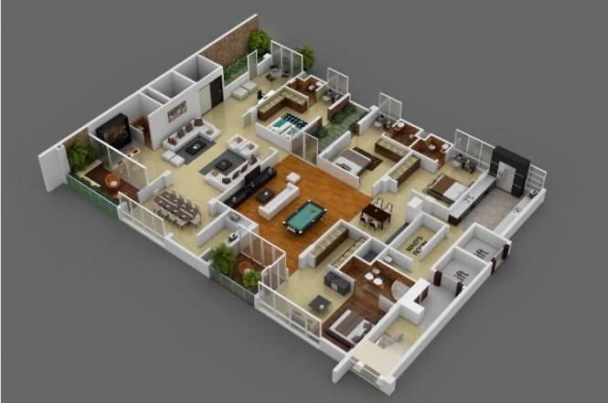 41 Ious 4 Bedroom