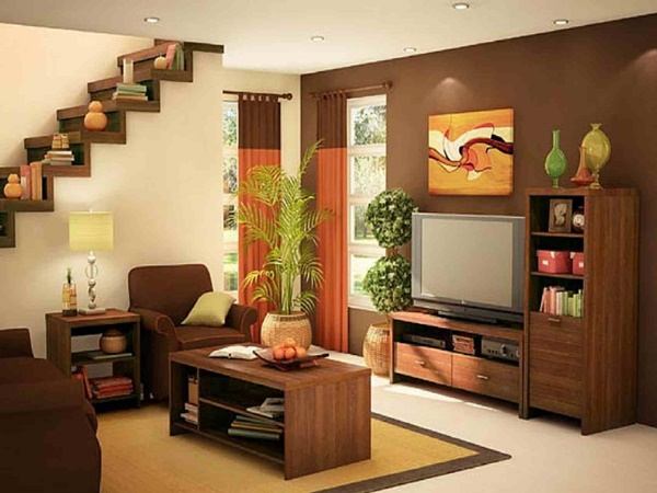 15 Ideal Designs For Low Budget Living Rooms ...