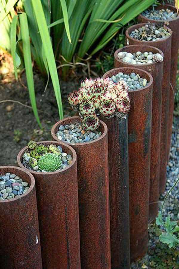 Raised Garden Border Ideas