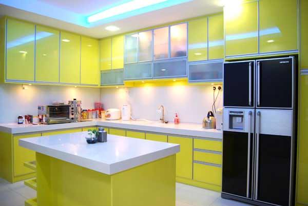 15 Lovely Green Kitchen Design Ideas Architecture Amp Design
