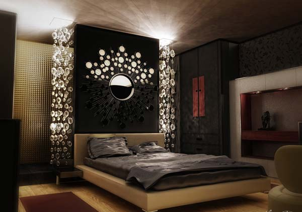 charming modern bedroom lighting ideas