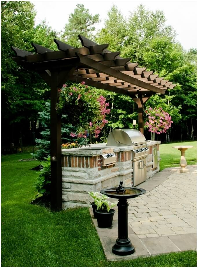 15 Cool Ways To Design A Barbecue Grill Area