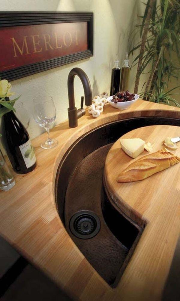 15+ Creative & Modern Kitchen Sink Ideas   Architecture ...