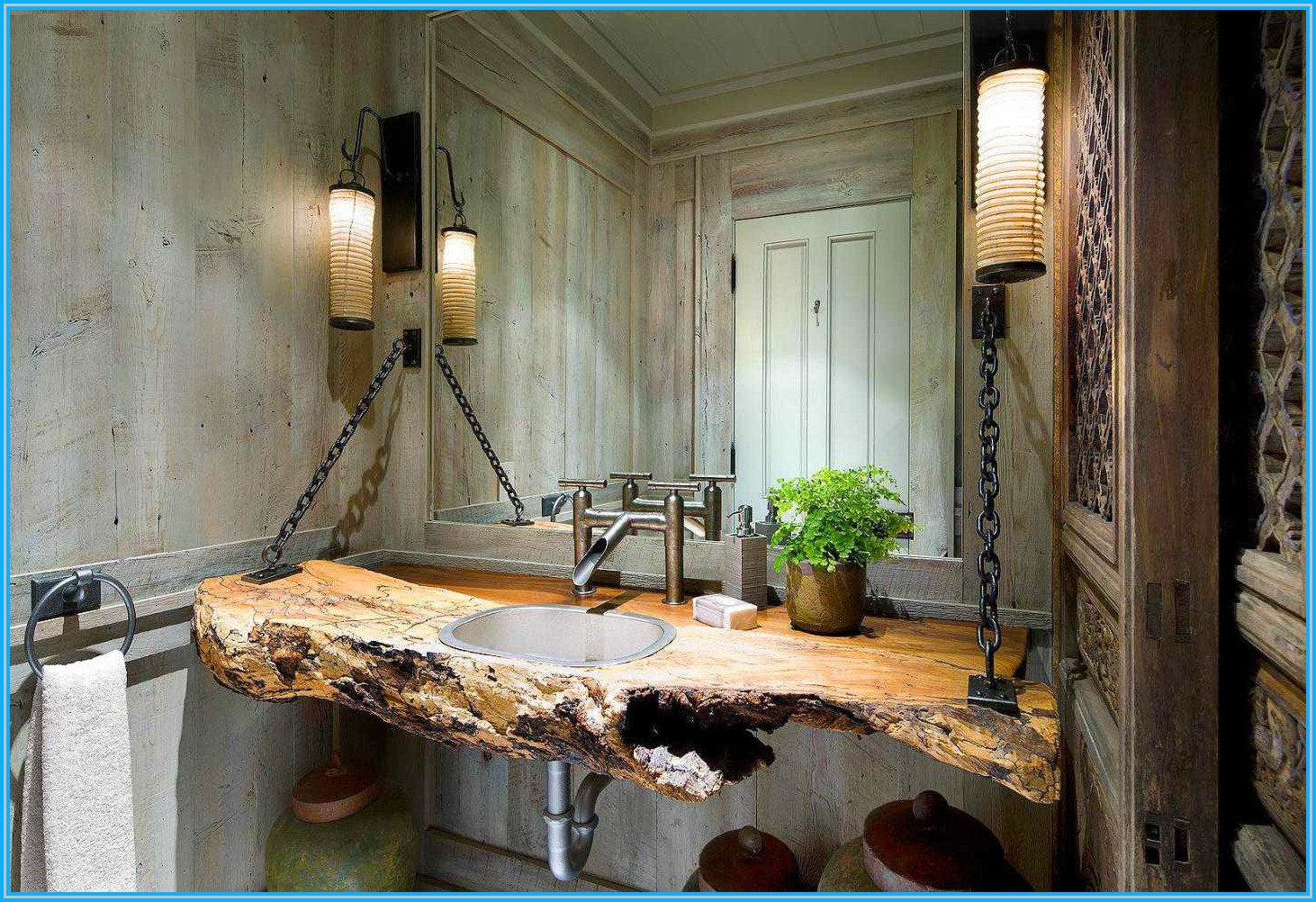 35+ Exceptional Rustic Bathroom Designs Filled With