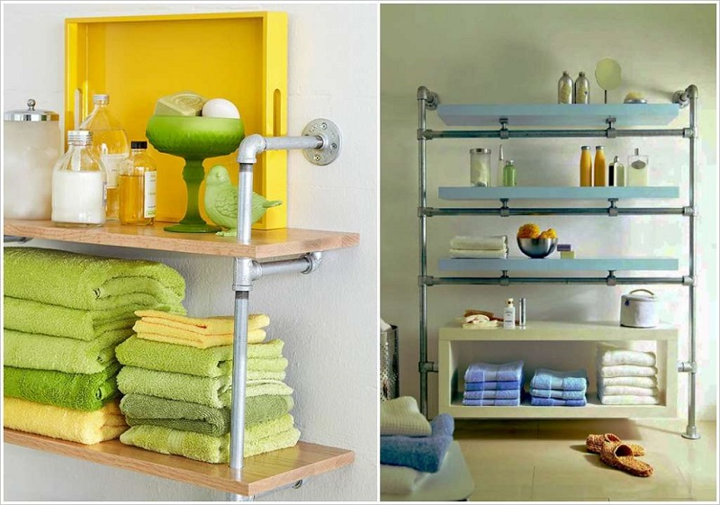 20 Creative Bathroom Towel Storage Ideas