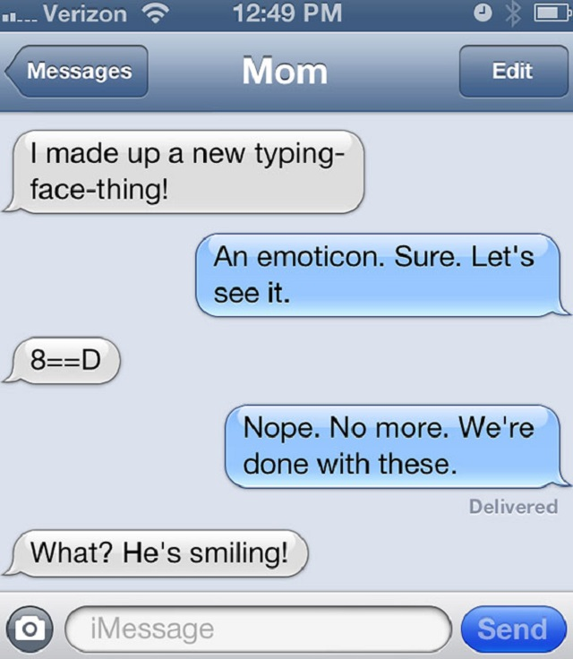 Image of: Ever Adfunnytextsfromparents04 Architecture Design 30 Of The Funniest Texts Ever Sent Between Parents And Their