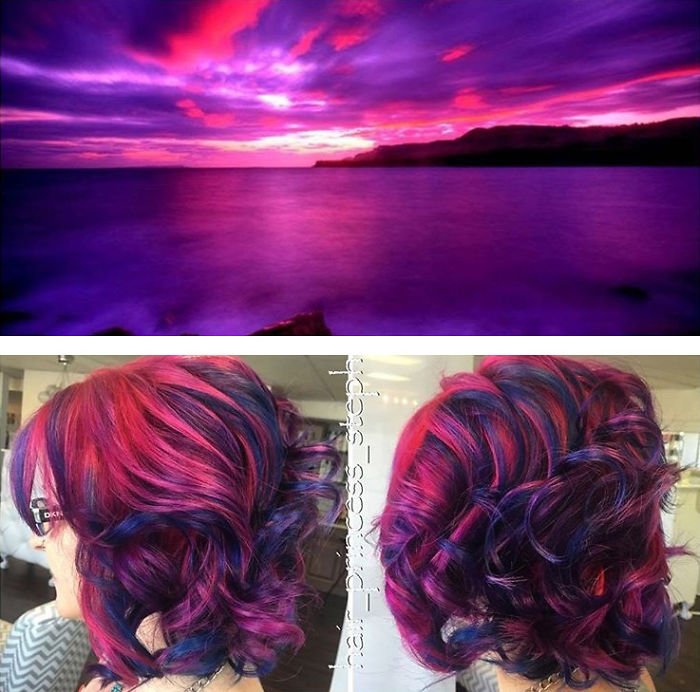 This Galaxy Hair Trend Is Out Of This World Architecture