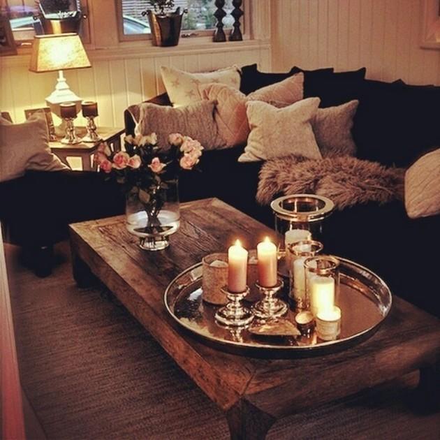 Fall Coffee Table Decor Ideas
