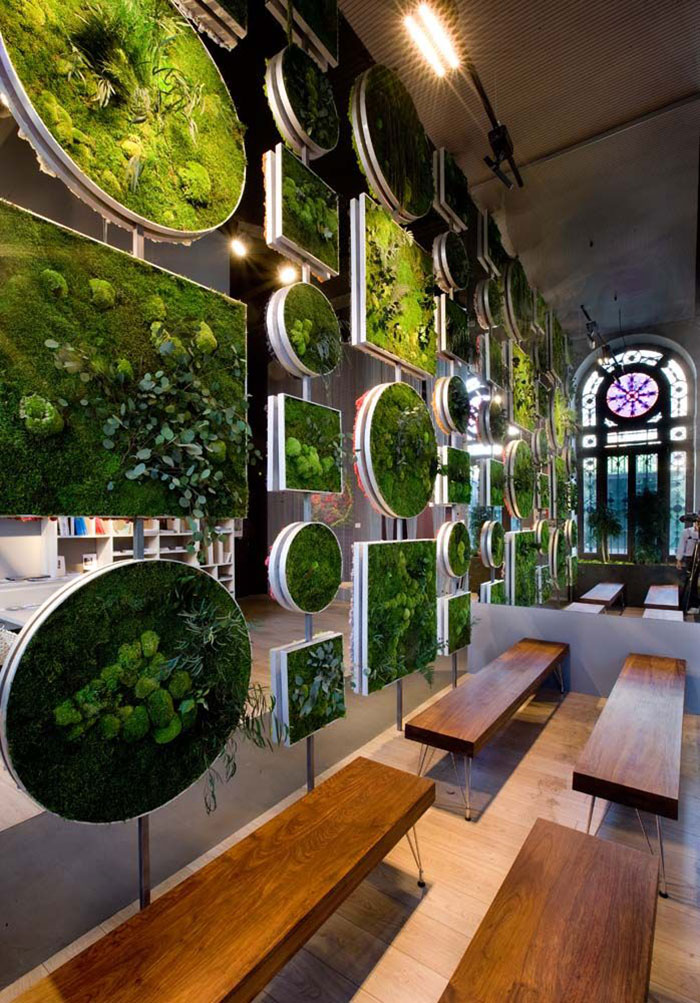 Living Wall Herb Garden