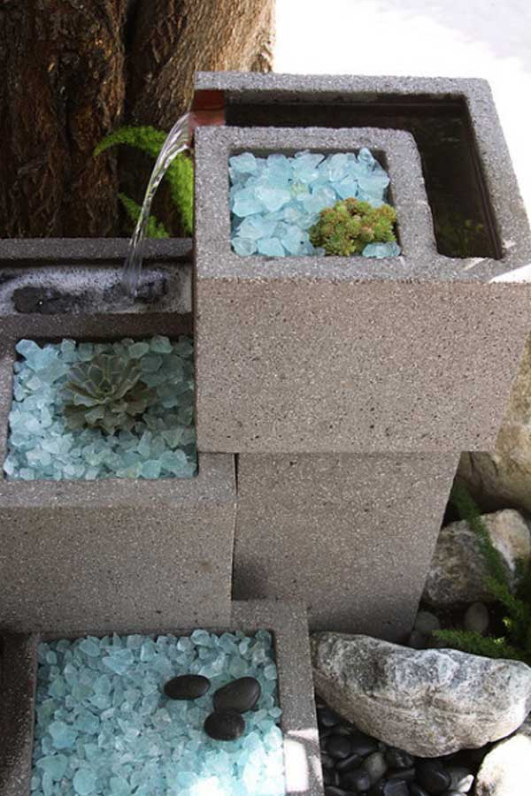 Awesome Home Projects Created From Concrete Cinder Blocks