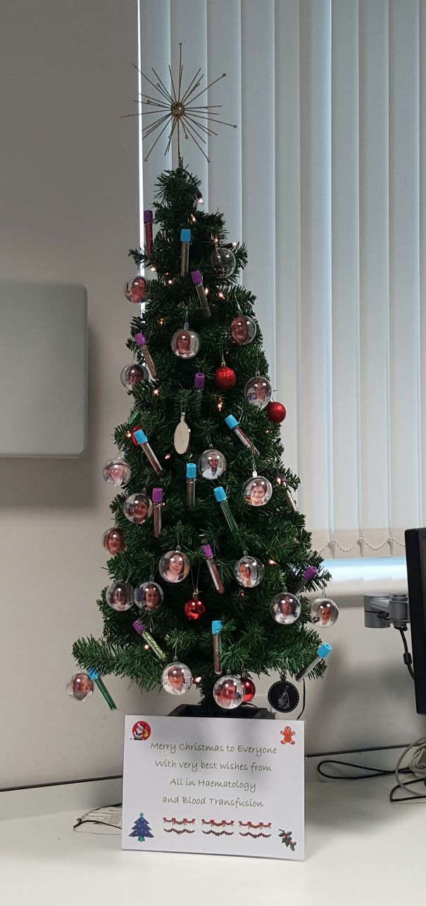 25 Hospital Christmas Decorations That Show Medical Staff
