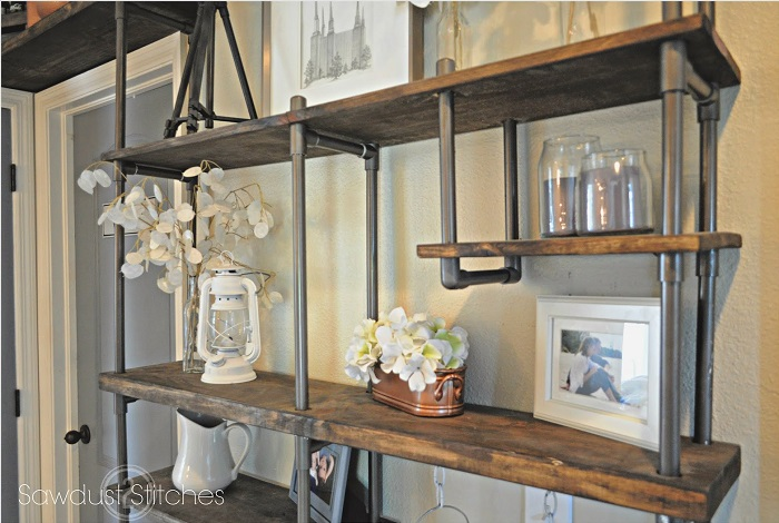 Galvanized Metal Shelves