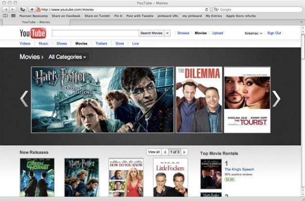 YouTube boosts movie rentals with over 3 000 Hollywood titles   Ars     Article intro image